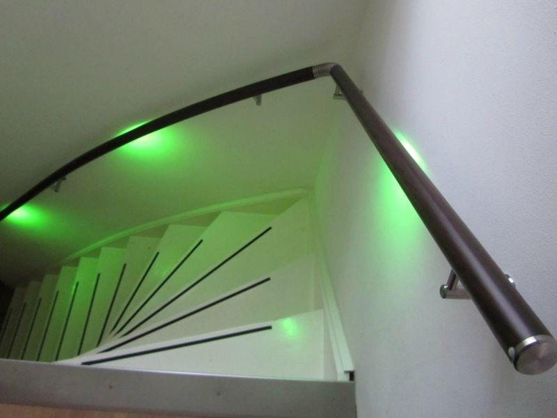 Trapleuning met LED | Wijchen - Lumigrip