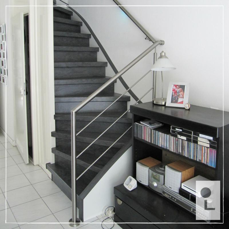 Rvs balustrade voor een stijlvolle woning lumigrip for Balustrade trap