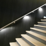Detail trapleuning met LED