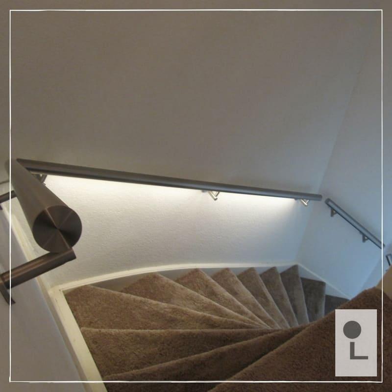 Trapleuning met LED verlichting - Nederlandse top kwaliteit!