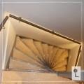 Illunox-doorlopend-LED-dubbel-kwart-trap