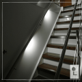 Monocolour-systeem-neutraal-wit-Balustrade-Recht-Leuning
