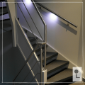 Monocolour-systeem-Leuning-Balustrade-Touch-Dim
