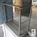 houten-trapleuning-rvs-verlichting-balustrade-vintage