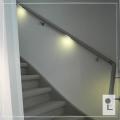 houten-trapleuning-rvs-verlichting-eiken-wit