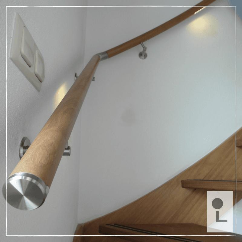 Verwonderend Een houten trapleuning: perfect voor uw interieur! - Lumigrip CW-95