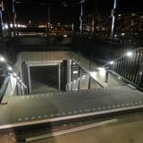 Station Gouda, RVS leuningen met LED systeem MonoColour HR Puur Wit, deel 2