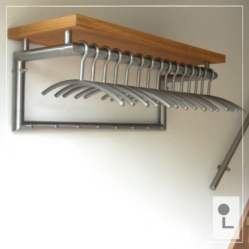 rvs kapstok perfect op maat voor uw woning - natuurlijk van lumigrip!
