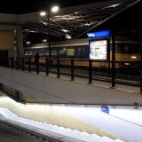 Station Tilburg verlichte muurleuning