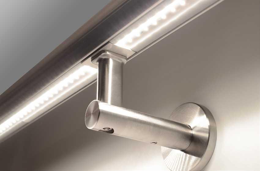 NIEUW: Trapleuning met doorlopende verlichting - Lumigrip