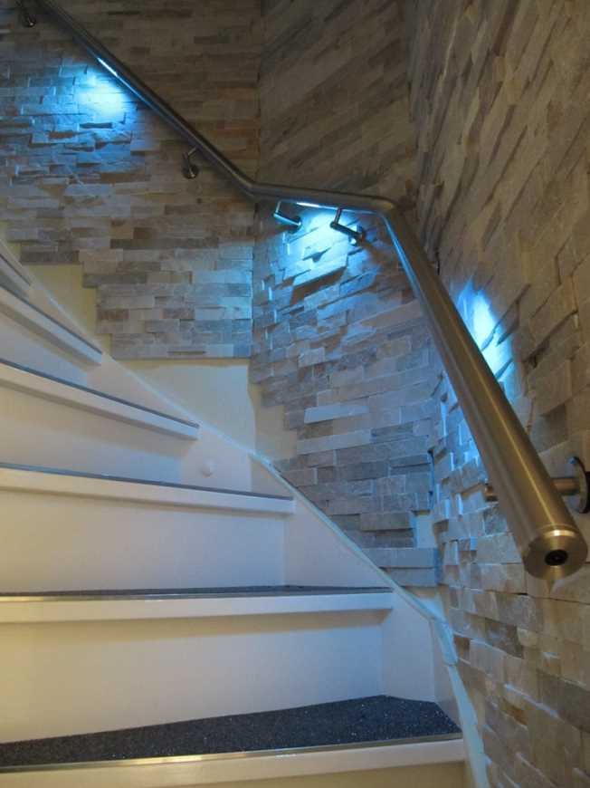 Trapleuning-met-LED-verlichting - Lumigrip