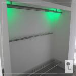 RVS kapstok met LED verlichting trapleuning specialist regio Nijmegen