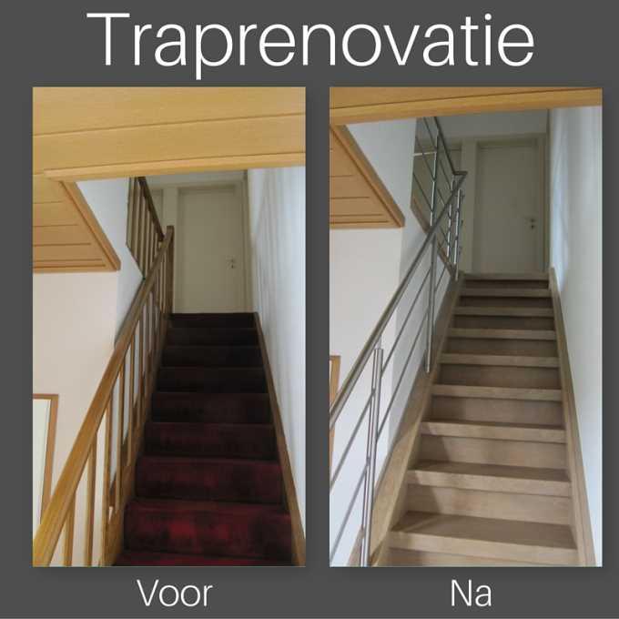 Uw oude trap beu? Uw trap renoveren doet u zo!